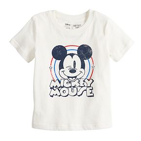 Disney's Mickey Mouse Baby Boy Butterwash Graphic Tee by Jumping Beans®