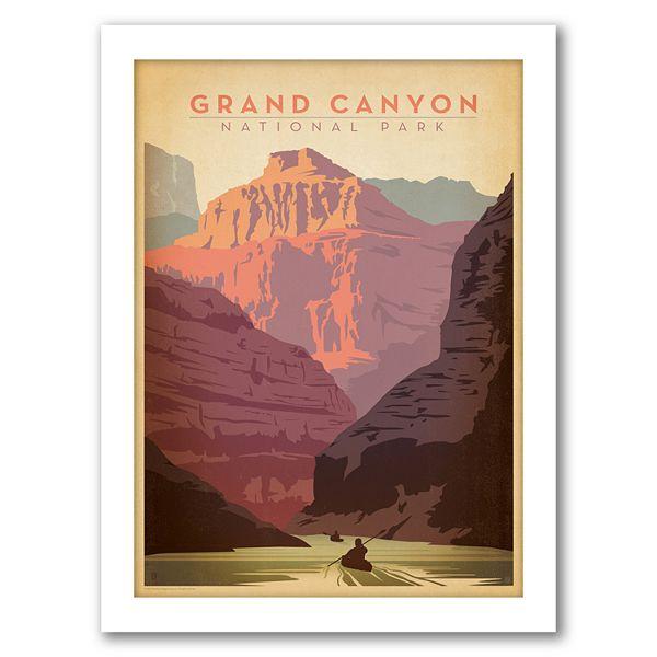Americanflat Grand Canyon National Park Framed Wall Art