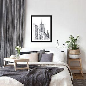"Americanflat ""New York"" Framed Wall Art"