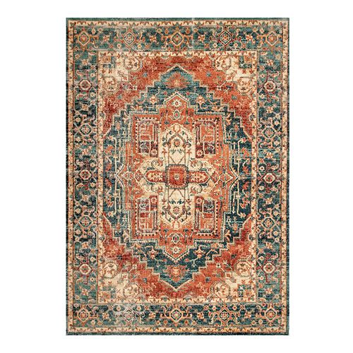 nuLOOM Transitional Medallion Gwendolyn Rug