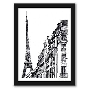 "Americanflat ""Paris"" Framed Wall Art"