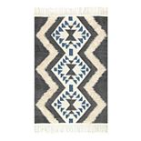 nuLOOM Margie Tribal Fringe Wool Rug
