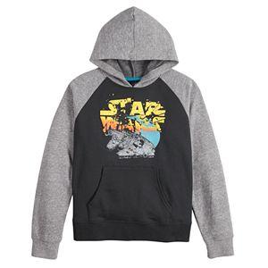 Boys 8-20 Star Wars Millennium Falcon Graphic Hoodie
