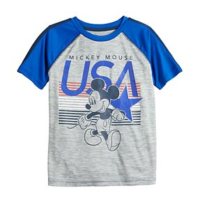 Boys 4-12 Jumping Beans® Poly Active Mickey Mouse Tee