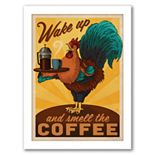 """Americanflat """"Rooster"""" Framed Wall Art"""