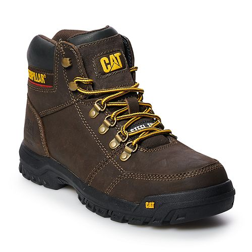 Caterpillar Outline Men's Steel Toe Work Boots