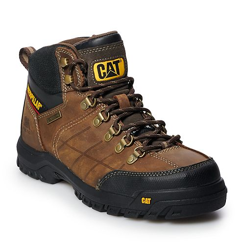 Caterpillar Threshold Men's Waterproof Steel Toe Work Boots