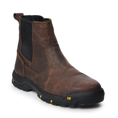 Caterpillar Wheelbase Men's Steel Toe Chelsea Work Boots