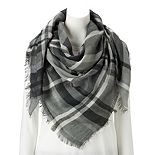 Women's Apt. 9® Lightweight Plaid Square Scarf
