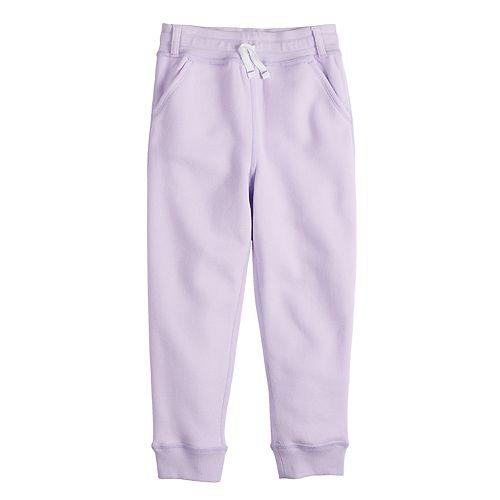 Toddler Girl Jumping Beans® Adaptive Fleece Jogger Pants