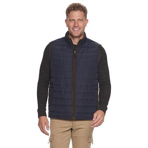 Men's Coleman Quilted Zip Front Vest