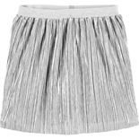 Girls 4-14 Carter's Silver Foil Pleated Skirt