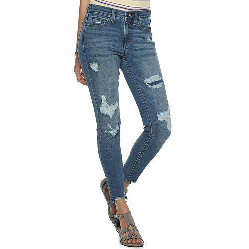 Juniors' Mudd® Mid-Rise Vintage Skinny Jeans
