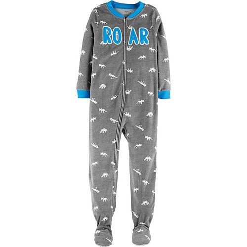 Boys 4-10 Carter's Fleece One-Piece Pajamas