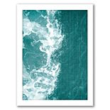 """Americanflat """"Tropical Waters"""" Framed Wall Art"""