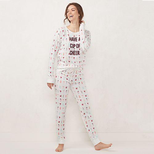 Women's LC Lauren Conrad Extra Soft Pajama Set