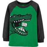 Toddler Boy Carter's Alligator Raglan Tee