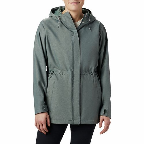 Women's Columbia Norwalk Hooded Anorak Mountain Jacket