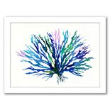"""Americanflat """"Coral 1"""" Framed Wall Art"""