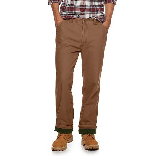 Men's Coleman Fleece Lined Canvas Pant