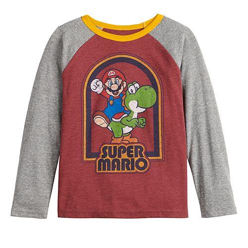 Boys 4-12 SONOMA Goods for Life™ Nintendo Mario & Yoshi Graphic Tee