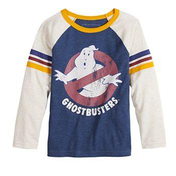 Boys//Girls Black Retro Ghostbusters Hoodie 4 Sizes Movie Classic