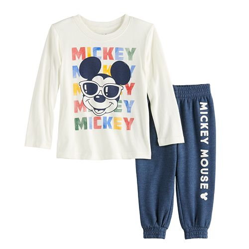 Disney's Mickey Mouse Baby Boy Graphic Tee & Jogger Pants Set by Jumping Beans®