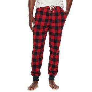 Men's SONOMA Goods for Life® Flannel Banded-Bottom Sleep Pants