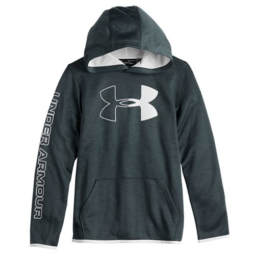 Boys 8-16 Under Armour Fleece Logo Pull-Over Hoodie