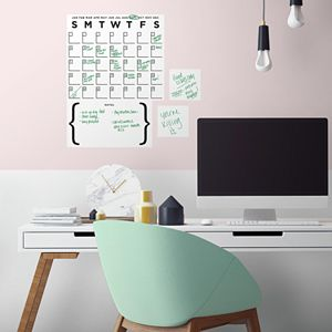 Room Mates Dry Erase Calendar Wall Decal Set