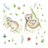 Room Mates Lazy Sloth Wall Decals