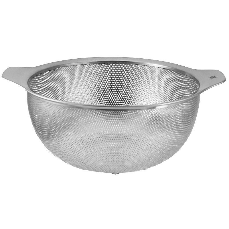 Craft Kitchen 4.5-qt. Stainless Steel Colander, Grey, 4 1/2 QT