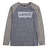 Boys 8-20 Levi's® Logo Graphic Raglan Tee