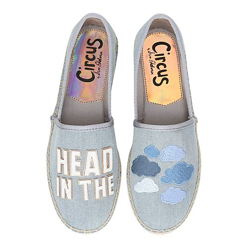 Circus by Sam Edelman Leni Head in the Clouds Women's Espadrille Flats