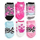 Girls JoJo Siwa 6-Pack No-Show Socks