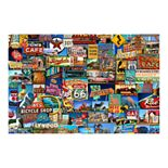 FlorArt Roadside American Kitchen Mat