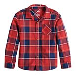 Boys 4-12 SONOMA Goods for Life® Plaid Button Down Shirt