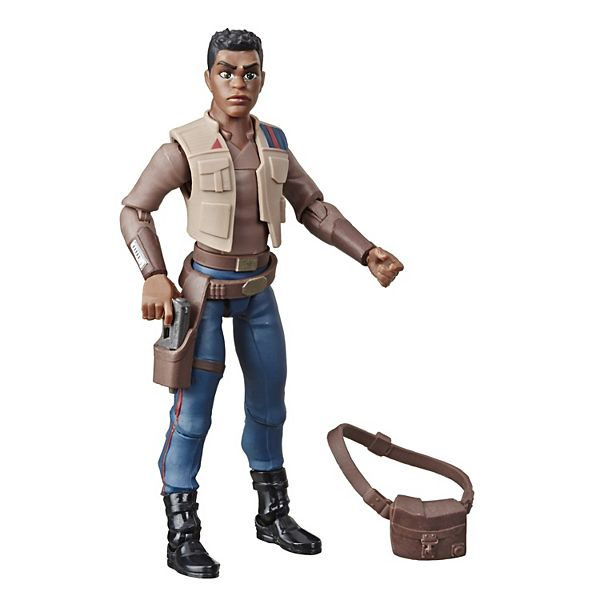 Star Wars Galaxy of Adventures Finn 5-Inch-Scale Action Figure Toy by Hasbro