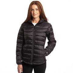 f9f9b588f243 Women's Excelled Hybrid Hooded Puffer Coat