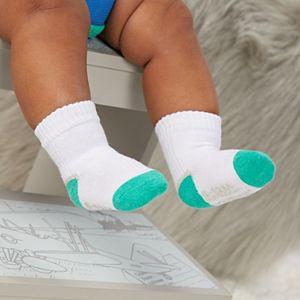 Baby Boy Fruit of the Loom® 6 Pack Crew Socks