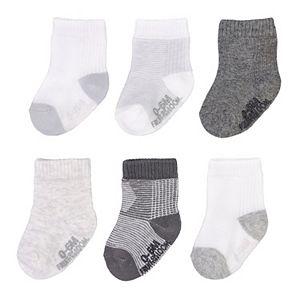 Baby Fruit of the Loom® 6 Pack Crew Socks