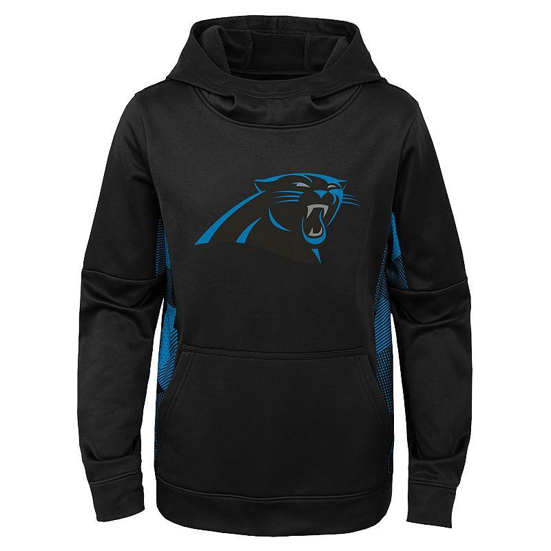 Boys' 4-20 NFL Carolina Panthers Stadium Fleece Hoodie. Boy's. Size: XX Small. Black