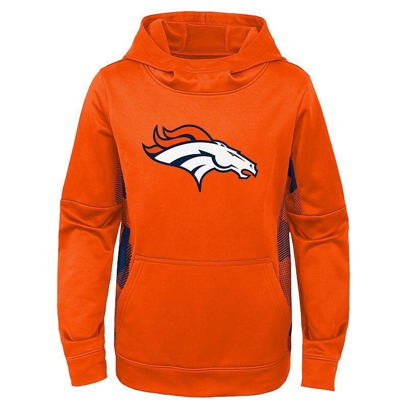 Boys 4-20 NFL Denver Broncos Stadium Fleece, Boy's, Size: XX Small, Orange