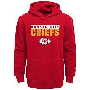 Boys 4-20 NFL Kansas City Chiefs Bar Code Fleece