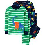 Baby Boy Carter's 4 Piece Dinosaur Pajama Set
