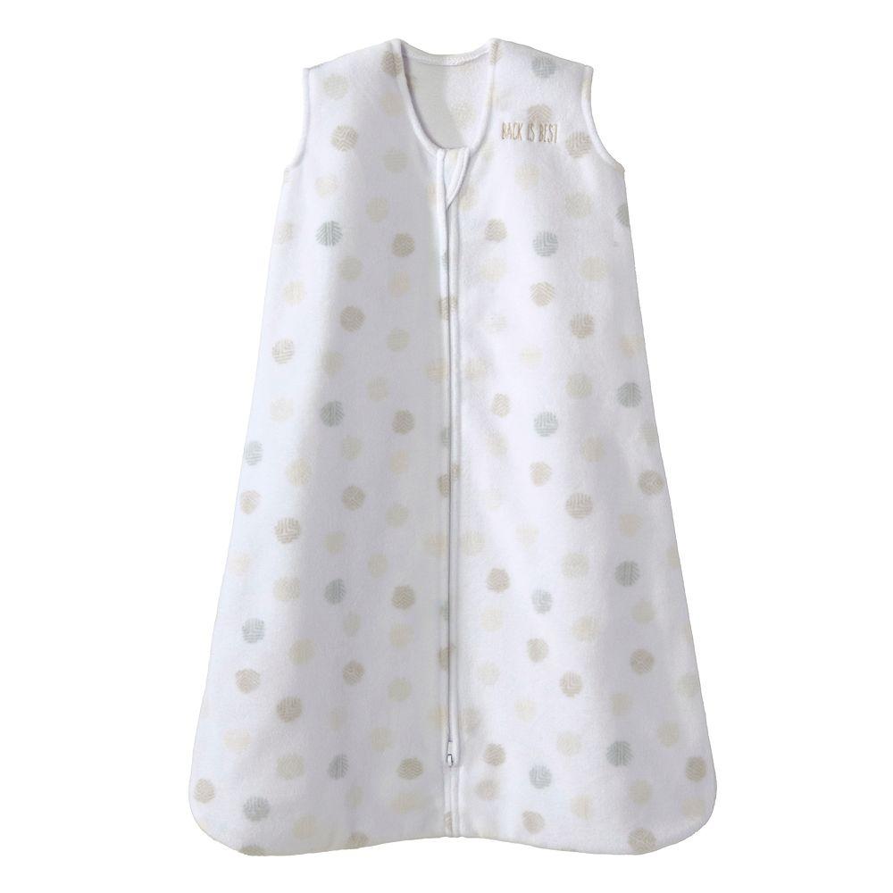 Baby HALO SleepSack Dot Sketch Microfleece Wearable Blanket