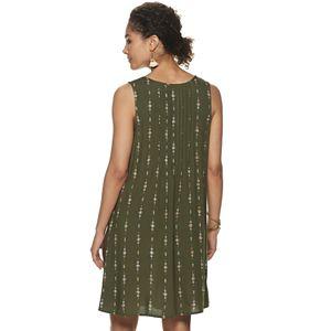 Women's SONOMA Goods for Life® Pintuck Sleeveless Dress
