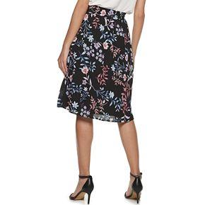 Women's ELLE? Tie-Waist Soft Skirt