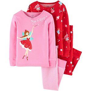 Baby Girl Carter's 4 Piece Fairy Pajama Set