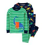 Toddler Boy Carter's 4 Piece Dinosaur Pajama Set